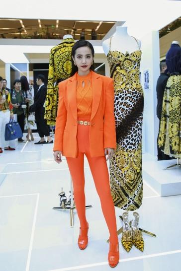 Jolin Tsai in Versace Spring 2018-4