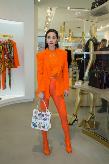 Jolin Tsai in Versace Spring 2018-6