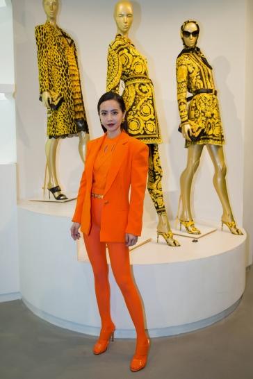 Jolin Tsai in Versace Spring 2018-7