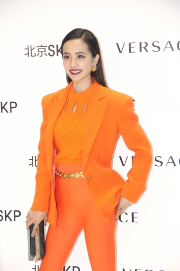 Jolin Tsai in Versace Spring 2018-8