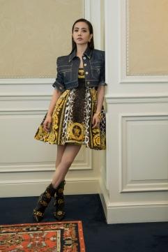 Jolin Tsai in Versace Spring 2018-9