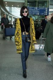 Jolin Tsai in Versace Spring 2018