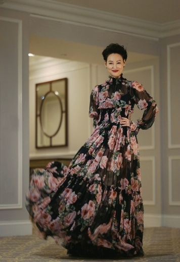 Kara in Dolce & Gabbana Spring 2018-3