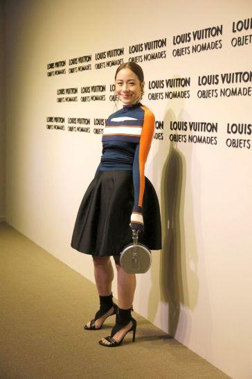 Karena in Louis Vuitton Spring 2018-1