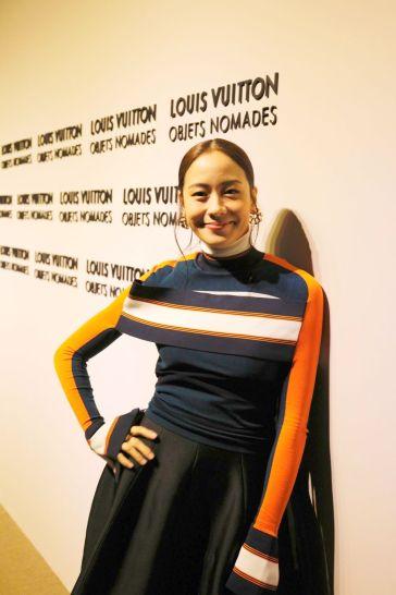 Karena in Louis Vuitton Spring 2018-2
