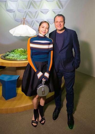 Karena in Louis Vuitton Spring 2018-3