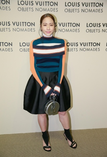 Karena in Louis Vuitton Spring 2018