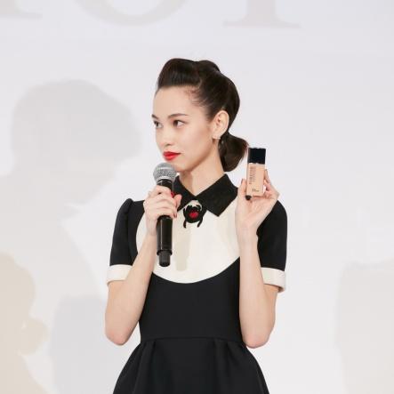 Kiko Mizuhara in Dior Spring 2018-2