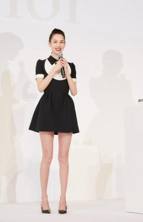 Kiko Mizuhara in Dior Spring 2018-3