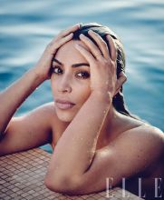 Kim Kardashian for ELLE US April 2018-4