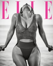 Kim Kardashian for ELLE US April 2018-6