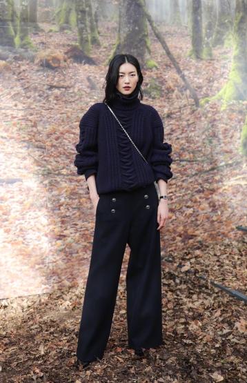 Liu Wen in Chanel Pre-Fall 2018-11
