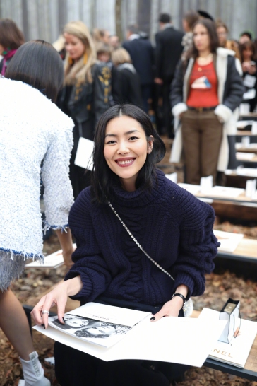 Liu Wen in Chanel Pre-Fall 2018-7