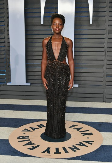 Lupita Nyong'o in Armani Privé Spring 2017 Couture
