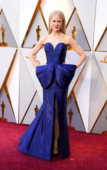 Nicole Kidman in Armani Privé Spring 2018 Couture