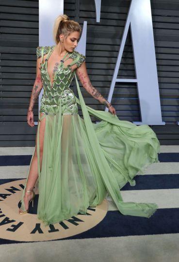 Paris Jackson in Atelier Versace-2