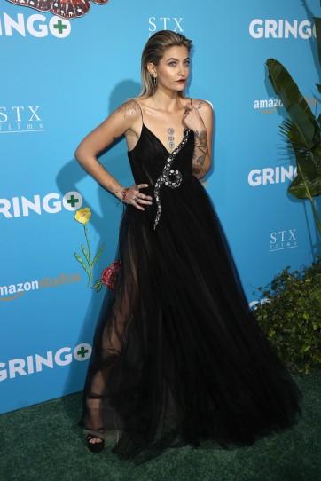 Paris Jackson in Valentino Pre-Fall 2018-2