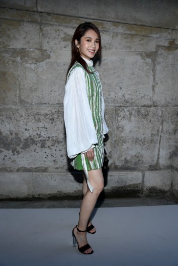 Rainie Yang in Louis Vuitton Spring 2018-2