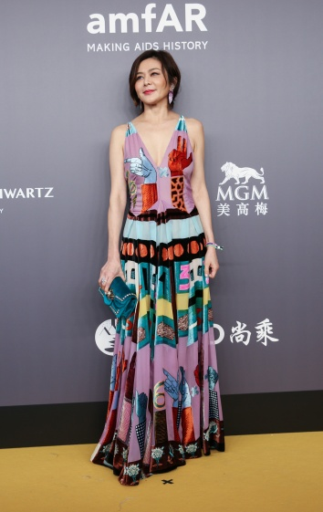 Rosamund Kwan in Valentino Fall 2017-1
