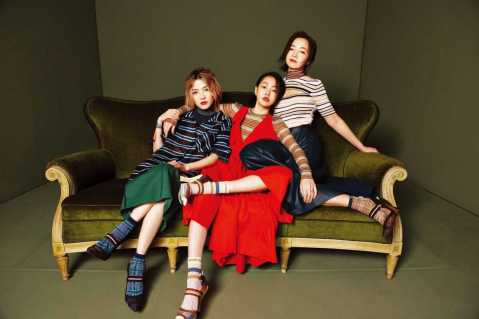 S Elephant Dee & Mavis Fan & Aya Liu for Marie Claire Taiwan March 2018-1