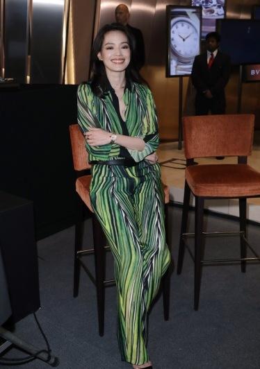 Shu Qi in Elie Saab Spring 2018-3