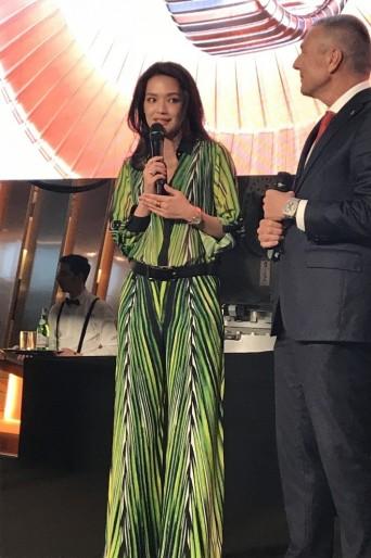Shu Qi in Elie Saab Spring 2018-6