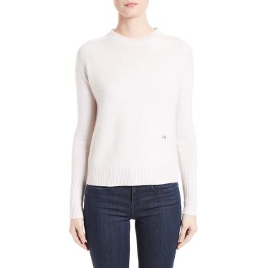 Victoria Beckham Crew Neck Cashmere Sweater