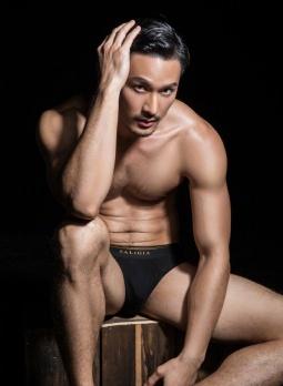 Yeechan Hung for SaligiaMen Underwear 2018 Campaign-11