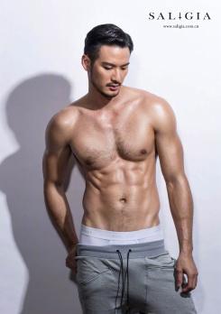 Yeechan Hung for SaligiaMen Underwear 2018 Campaign-4