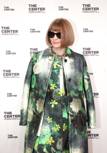 Anna Wintour in Prada Fall 2018-2