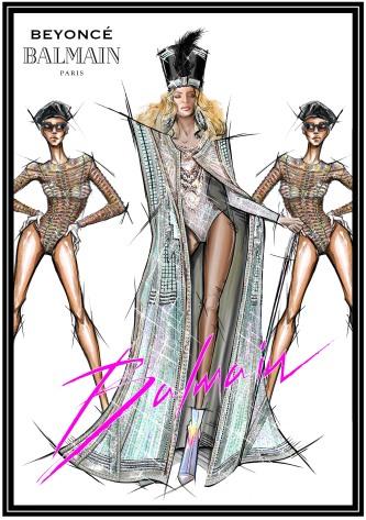 Balmain for Beyonce-2