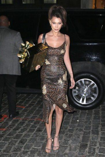 Bella Hadid in Dior Fall 2000-2