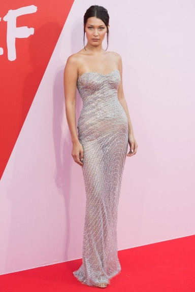 Bella Hadid in Roberto Cavalli Couture Fall 2017