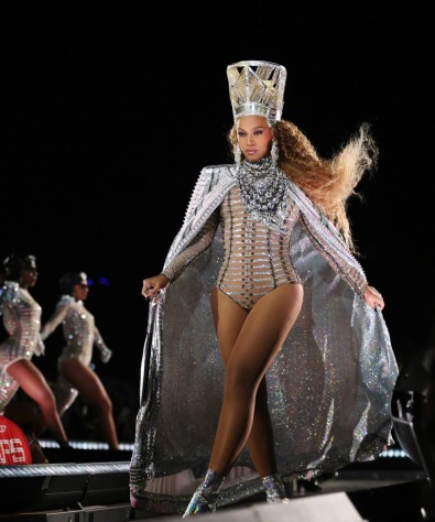 Beyonce in Balmain