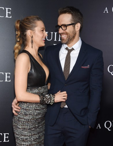 Blake Lively in Chanel with Ryan Reynolds-1