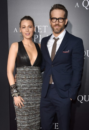 Blake Lively in Chanel with Ryan Reynolds-2