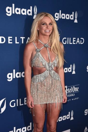 Britney Spears in Giannina Azar Fall 2017-2