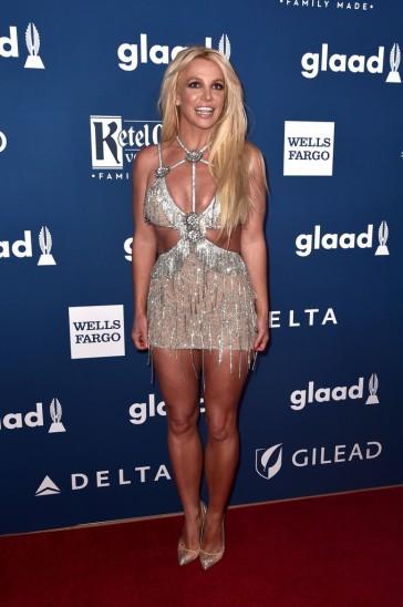 Britney Spears in Giannina Azar Fall 2017