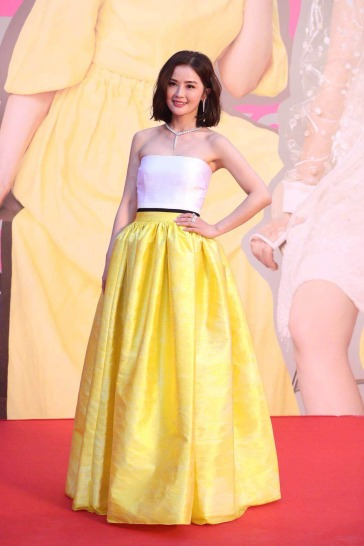 Charlene Choi in Alex Perry Spring 2018-1