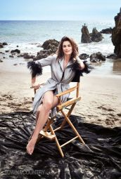 Cindy Crawford for Town & Country May 2018-2
