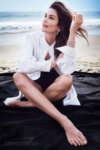 Cindy Crawford for Town & Country May 2018-4