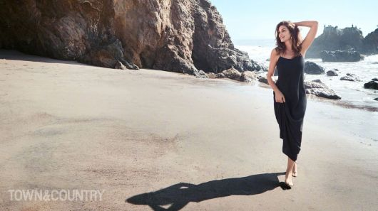 Cindy Crawford for Town & Country May 2018-5