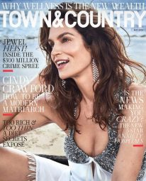 Cindy Crawford for Town & Country May 2018 Cover B