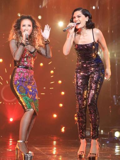 Coco Lee in Discount Universe with Jessie J in Angel Brinks