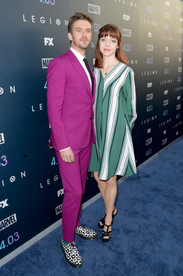 Dan Stevens in Paul Smith Spring 2018-2