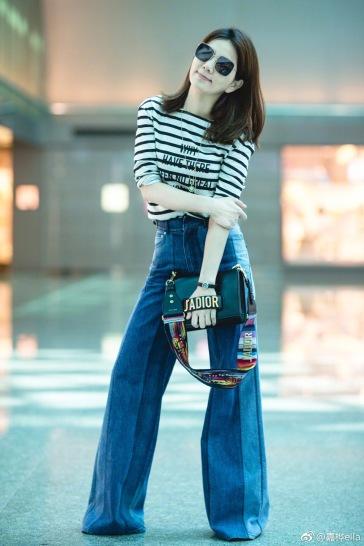 Ella Chen in Dior Spring 2018-1