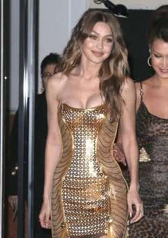 Gigi Hadid in Versace Fall 2012-2