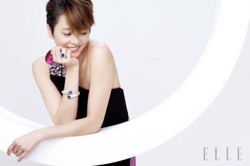 Gigi Leung Wing Kei for ELLE HK May 2018-5