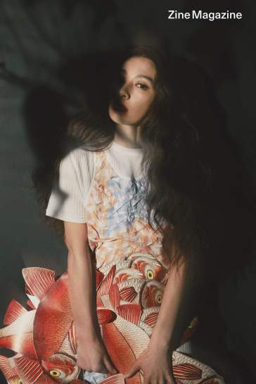 Hebe Tian for Zine Magazine Issue 21-5