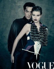 Hu Ge & Luna Bijl for Vogue China June 2018-1